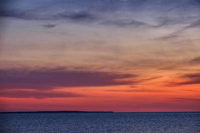 Sunset Over Herring Cove 002 Art Print
