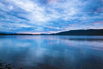 Studio Grafika Typography - Sunset over Lake Manapouri by Alexey Stiop