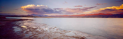 Mead Photograph - Sunset Over Lake Mead, Nevada, Usa by Panoramic Images