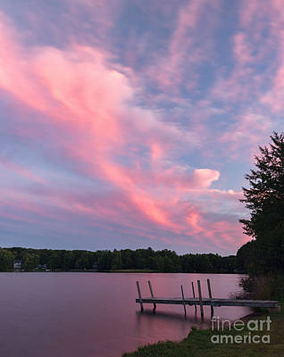 Photograph - Sunset Over Locke Lake by Sharon Seaward