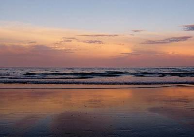 Sunset Over Long Sands Beach II Art Print