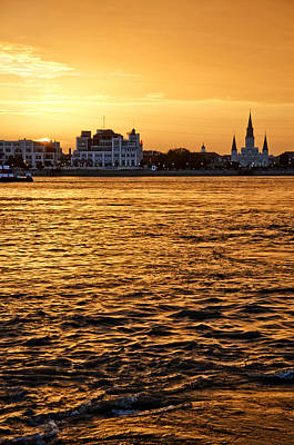 Sunset Over New Orleans Art Print by Patricia Sanders