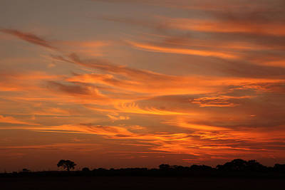 Photograph - Sunset Over North Norfolk by Paul Lilley