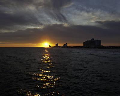 Sunset Over Pensacola Art Print