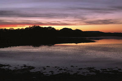 Photograph - Sunset Over Quanah Parker Lake by Richard Smith