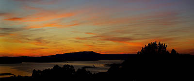 Big Photograph - Sunset Over San Francisco Bay And Mount Tamalpais by Russ Greene