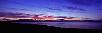 Terminal Photograph - Sunset Over Scapa Flow Overlooking by Panoramic Images