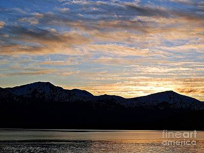 Photograph - Sunset Over Skagway Ak by Gena Weiser
