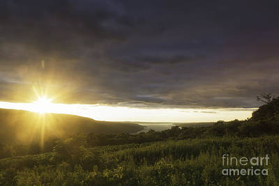 Sunset Over Skaneateles Art Print