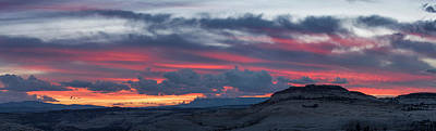 Staircase Scenes Photograph - Sunset Over Slickrock, Grand by Panoramic Images