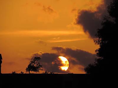 Photograph - Sunset Over Sunkist by Cathy Jourdan