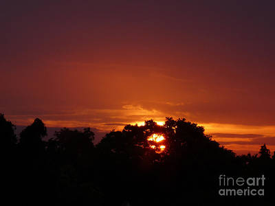 Photograph - Sunset Over Sutton Surrey by Lance Sheridan-Peel