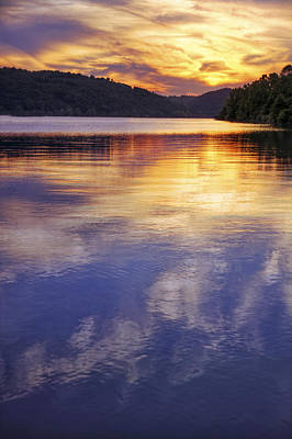 Photograph - Sunset Over The Arkansas River by Jason Politte