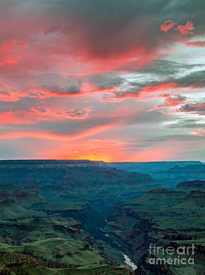 Photograph - Sunset Over The Colorado River by Nicholas Blackwell