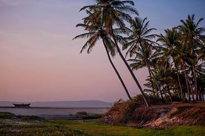Photograph - Sunset Over The Goan Beach. India by Jenny Rainbow