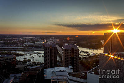 Photograph - Sunset Over The James by Debra K Roberts