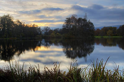 Sunset Photograph - Sunset Over The Pond by Patrick Jacquet