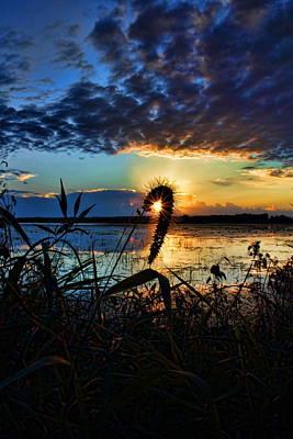 Photograph - Sunset Over The Refuge by Dale Kauzlaric