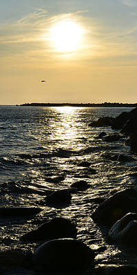 Photograph - Sunset Over The Sea by Gynt
