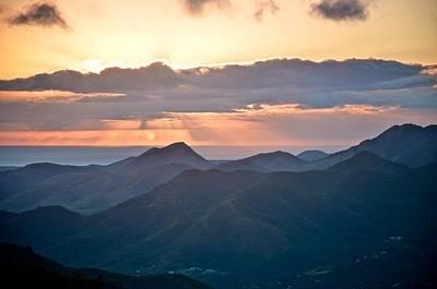 Photograph - Sunset Over The Sierra 2 by Ricardo J Ruiz de Porras