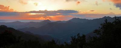Photograph - Sunset Over The Sierra by Ricardo J Ruiz de Porras