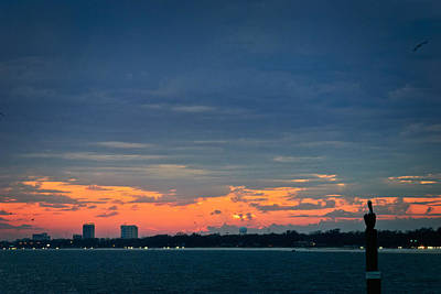 Photograph - Sunset Over The Water by George Taylor