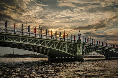 Photograph - Sunset Over Trinity Bridge by Ludmila Nayvelt