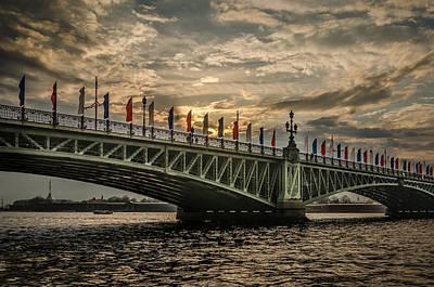 Photograph - Sunset Over Trinity Bridge by Ludmila Nayvelt