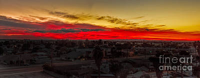 Hot Weather Photograph - Sunset Over Yuma by Robert Bales