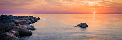 Photograph - Cyprus Sunset Panorama by Alex Saunders