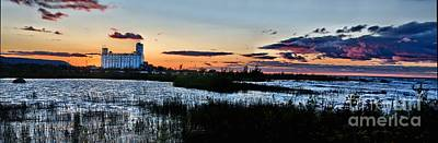 Photograph - Sunset Panorama Collingwood by Andrea Kollo