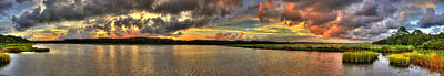 Photograph - Sunset Panorama by Ed Roberts