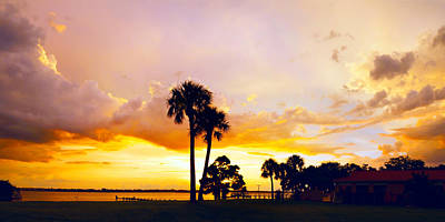 Photograph - Sunset Panorama by Francesa Miller