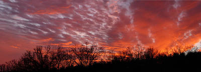 Photograph - Sunset Panorama by Linda Shannon Morgan