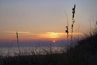 Shackleford Photograph - Sunset Paradise by Betsy Knapp