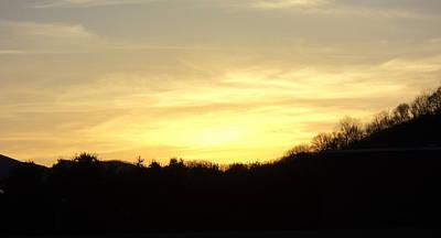 Photograph - Sunset by Paula Tohline Calhoun