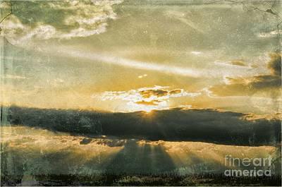 Digital Art - Sunset Photoart by Debbie Portwood