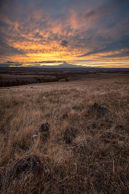 Photograph - Sunset Plains by Ryan Heffron
