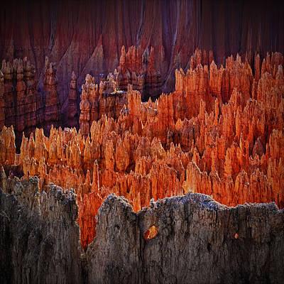 Sunset Point Bryce Canyon Utah Art Print by Gary Warnimont