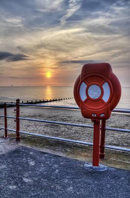 Photograph - Sunset Promenade by Ian Mitchell