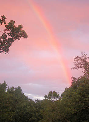 Photograph - Sunset Rainbow by Kristin Elmquist