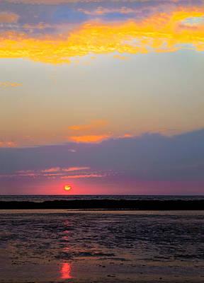Photograph - Sunset Reflections by Kantilal Patel