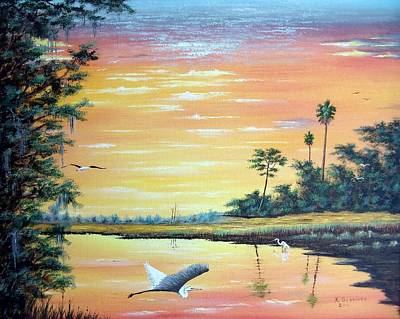 Painting - Sunset Refuge by Riley Geddings