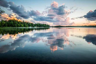 Sunset Relections Art Print by Paul Freidlund