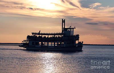 Photograph - Sunset Ride At Lbi by John Rizzuto