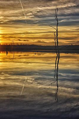 Photograph - Sunset Riverlands West Alton Mo Dsc03317 by Greg Kluempers
