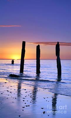Ruin Photograph - Sunset Romance by Bill  Robinson