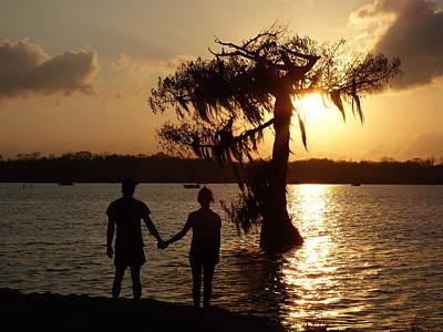 Photograph - Sunset Romance by Kimo Fernandez