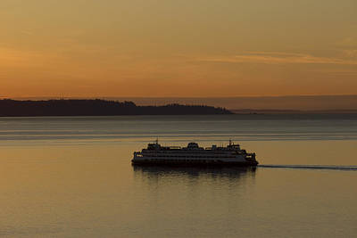 Photograph - Sunset Sail by Stephen Prestek