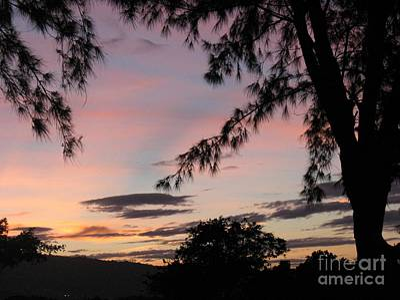 Photograph - Sunset Sainte Marie-reunion Island-indian Ocean by Francoise Leandre